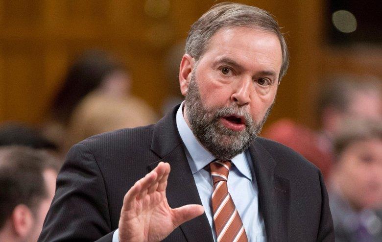 Petition to NDP Leader Tom Mulcair/Pétition au chef du NPD, Thomas Mulcair
