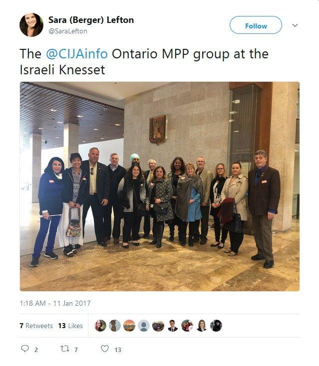 the-cijainfo-ontario-mpp-group-at-the-israeli-knesset-2